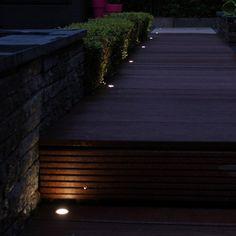 transformator inbouwspots terras verlichting inbouw inbouwspotjes vlonderplanken spotjes in vlonder steigerverlichtingnl