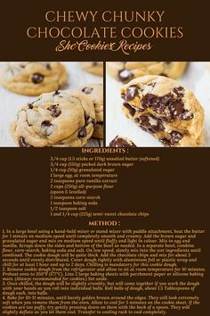 And More Recipes - Sweetness Haven Creations (SHC) Homemade Desserts, Cookie Desserts, Cookie Recipes, Delicious Desserts, Dessert Recipes, Fun Baking Recipes, Bakery Recipes, Sweet Recipes, Breakfast Dessert