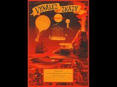 Vynález zkázy A Deadly Invention (Aka The Fabulous World of Jules Verne) (Karel Zeman) Fantasy Posters, Fantasy Films, Jules Verne, Cinema Posters, Film Posters, Steam Punk, Kino Box, Steampunk Movies, Polish Posters