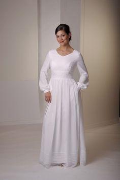 30 Lindos Vestidos Para o Templo [ Inspiração ] | A Noiva SUD