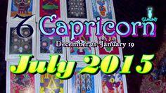 Capricorn July 2015 Intuitive Astrology & Tarot Reading by Mystic GLoLady