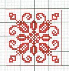 Toca do tricot e crochet Small Cross Stitch, Cross Stitch Borders, Cross Stitch Samplers, Cross Stitch Charts, Cross Stitching, Cross Stitch Embroidery, Cross Stitch Patterns, Crochet Diagram, Knitting Charts