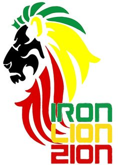 Fill the void. 20% off Wall Art. Use code WALLSRULE. Reggae Rasta Iron, Lion, Zion 2 by piciareiss