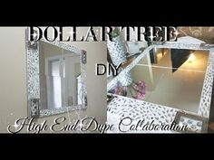 DIY HIGH END DUPE WALL ART HOME DECOR COLLABORATION HOSTED BY DESIGN ON A DOLLAR - YouTube
