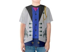 Kid's Hans Frozen Inspired Disneybound Shirt
