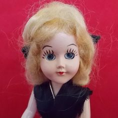 Vintage Doll  Hard Plastic 8 Dress Me Sleep by OnceAgainTreasure