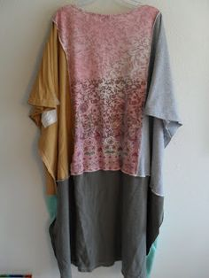 Refashion Co-op: Love Flow Creations Tee Shirt Poncho
