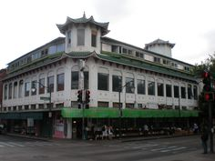Once the Wo Fat Restaurant in Chinatown Honolulu...it remains still