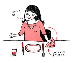 A CUP OF JO: Dinner etiquette