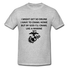 Great USMC T-Shirt design!