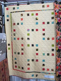 Quilt Market May 2011 by pink chalk studio, via Flickr   Nibbles quilt pattern by Modern Quilt Relish