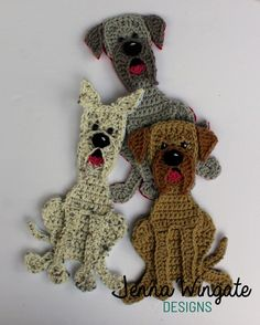Great Dane Patch // Patchwork Puppy Project // Applique // Dog // Embellishment // DIY // Decoration // Make and sew on Crochet Animals, Crochet Toys, Crochet Dog Patterns, Dane Puppies, Photo Prop, Dog Grooming Business, Great Dane Puppy, Diy Décoration, Stuffed Animal Patterns