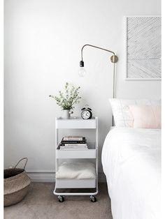 Een opgeruimde slaapkamer in vier stappen