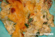 Trim Healthy Mama Loaded Cauliflower Bake - THM-S - Mary Bondurant - Powered by @ultimaterecipe