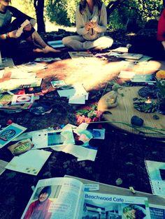 Vision Boards from Sacred Pregnancy Ojai Retreat, November 2012
