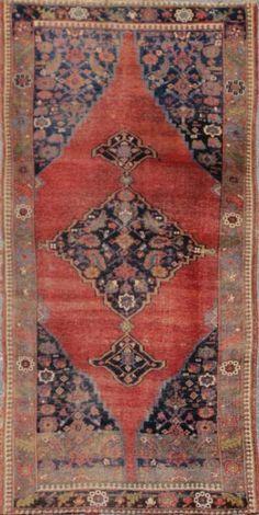 "KEIVAN WOVEN ARTS,   Type :Bidjar Origin :Iran  Size : 4'9""x9'2""  Circa :1890"