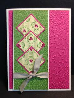 My Creative Corner!: Poetry Print Card Stampin' Up!