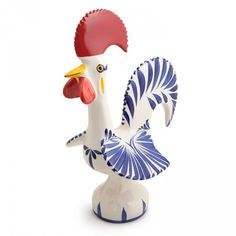 Love these Portuguese Good-Luck Roosters
