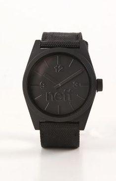 db6fa9b197b4f Mens Neff Watches - Neff Daily Woven Watch