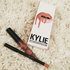 Lipkit by Kylie Swatched, never used. Too light of a nude for me. Lipkitbykylie Makeup Lipstick