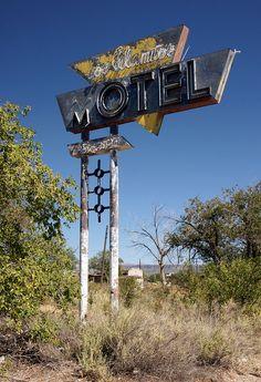 Motel, Route 66 - Grants, New Mexico