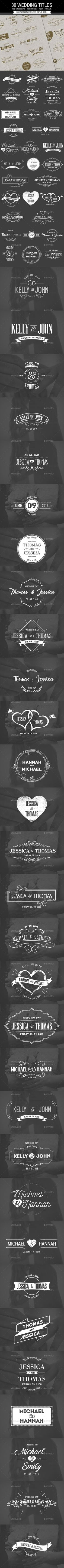 30 Wedding / Save the Date Titles  PSD Template • Download ➝ https://graphicriver.net/item/30-wedding-save-the-date-titles/16869977?ref=pxcr