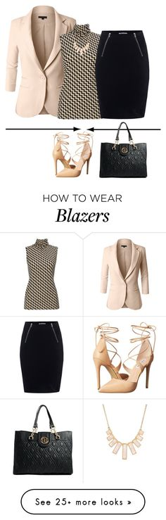 """Fashion line!"" by lollahs on Polyvore featuring LE3NO, Wallis, T By Alexander Wang, Rivka Friedman, Steve Madden and River Island"