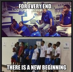 So sad but so happy at the same time! I'll miss the guys from last year but i'm ready to see what these guys can do! Uk Wildcats Basketball, Kansas Jayhawks Basketball, Kentucky Basketball, Basketball Players, College Basketball, Kentucky Wildcats, Go Big Blue, My Old Kentucky Home