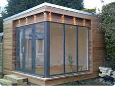 Contemporary garden room for Chris' dojo