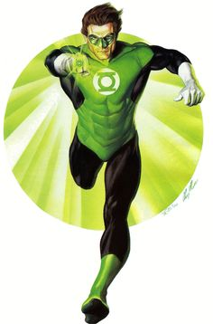 Green Lantern Hal Jordan by Alex Ross