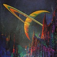 The Science Fiction Gallery : Photo Arte Alien, Arte Sci Fi, New Retro Wave, Retro Waves, Art Science Fiction, Concept Art Landscape, Art Haus, Sci Fi City, 70s Sci Fi Art