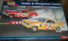 Revell  Snake and Mongoose combo Kit  box art
