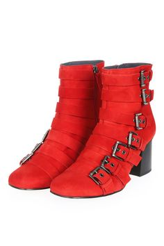 MAGNESIUM Buckle Boots