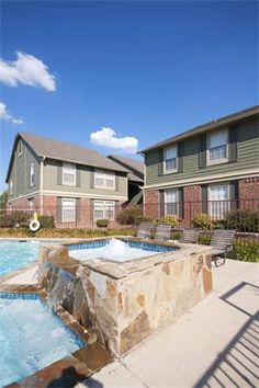 The pool at The Arbors of Corsicana in Corsicana, TX