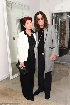 Sharon Osbourne reveals she found her husband Ozzy in bed with two nannies | Daily Mail Online
