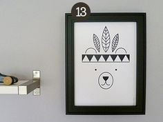 Top 15: Schösnten Illustrationen für Dein Zuhause / must have illustrations for your home via DaWanda.com