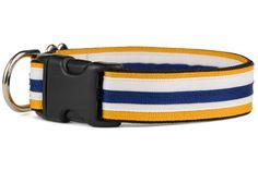 Dog Varieties, Handmade Dog Collars, Dog Collars & Leashes, Collar And Leash, School Spirit, Preppy, Printing On Fabric, Your Dog, Belt