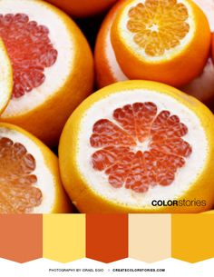 Color Stories: Happiness | createcolorstories.com #orange #colorpalette