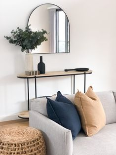 Gallery — MVD Console Styling, Oversized Mirror, Entryway, Throw Pillows, Gallery, Table, House, Instagram Repost, Furniture