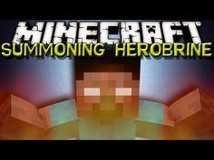 Minecraft - HOW TO SUMMON HEROBRINE