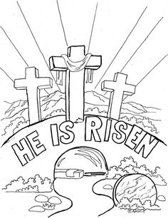 Eight Best Easter Coloring Pages - Whats in the Bible | Bible ...