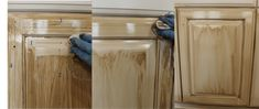 Kitchent Cabinets Makeover How to Glaze Cabinets Correctly - Painted Furniture Ideas - Glazing to cabinets is like hot fudge to ice cream, it's just a perfect combination. Glaze gives that added depth… Read Glazing Cabinets, Glazed Kitchen Cabinets, Antique Kitchen Cabinets, Cheap Kitchen Cabinets, Painting Kitchen Cabinets, Diy Cabinets, Diy Kitchen, Kitchen Ideas, Kitchen Designs