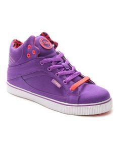Sour Grape Sire Hi-Top Sneaker