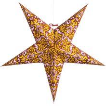 The Holiday Aisle Fleur de Lis Paper Star Light Color: Burgundy Paper Star Lights, Paper Star Lanterns, Icicle Lights, Paper Stars, Led String Lights, Christmas String Lights, Holiday Lights, Christmas Projector, Starburst Light