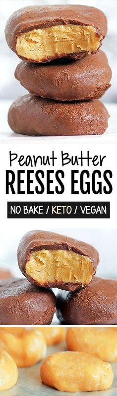 Homemade Reeses Peanut Butter Eggs!