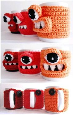 monster mug cozy