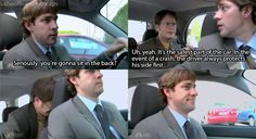 the office....laughed for a good five minutes over this one. This is also the episode where Jim smacks the shit out of Dwight!