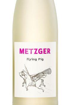 Flying Pig Weiß