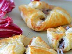 Fagottini di pasta sfoglia al radicchio e mozzarella, Ricetta Petitchef