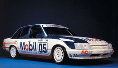 1985- First year of Group A regulations and first year of Mobil sponsorship of the Holden Dealer Team
